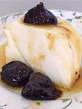 Coconut custard - slice